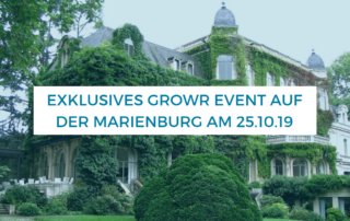 Exklusives growr Event auf der Marienburg