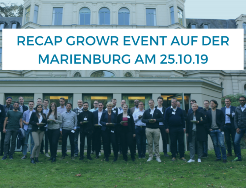 Recap growr Event auf der Marienburg am 25.10.19